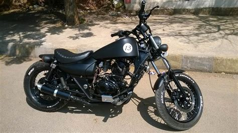Modified Enticer Bike In India by Bobber 13 Modified Bajaj Avenger Pune Bike 350cc