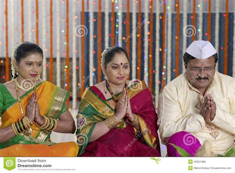 Wedding Blessing Rituals by Hindu Wedding Stock Photo Cartoondealer 80172414