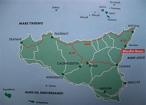 ledusa island italy map map of sicily with towns of island sicily italy