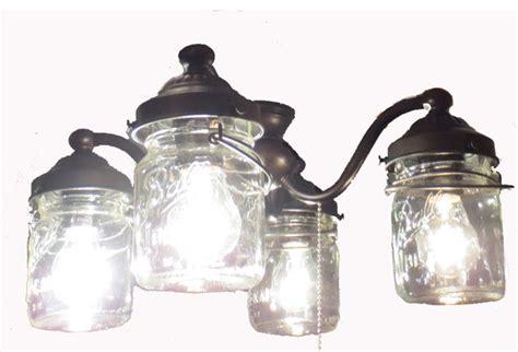 mason jar ceiling fan light kit mason jar ceiling fan light kit antique black farmhouse