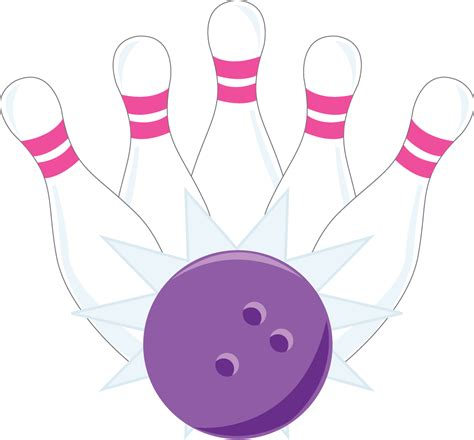 bowling clipart pink bowling pin clip www imgkid the image kid