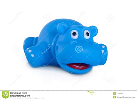 Rubber Toyz Blue rubber bath toys blue hippo stock images image 22755954
