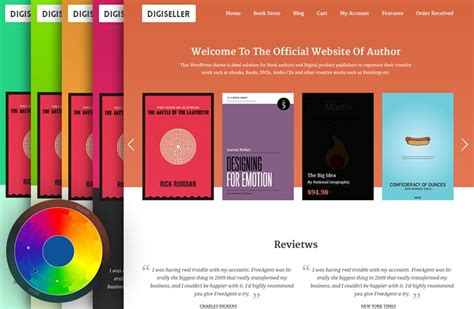 themes in the book sold best author wordpress theme for publiushers 2018 sell