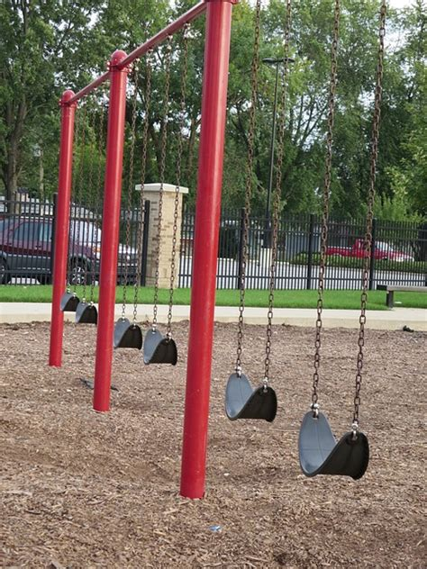 playground swing swing kids fun play park swings playground public