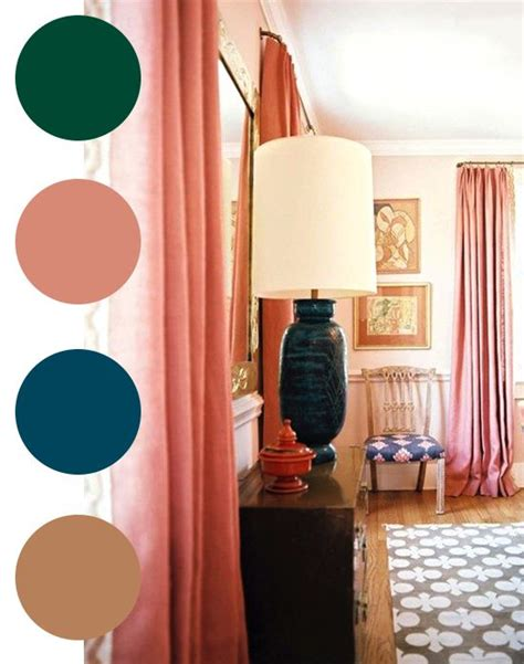 Salmon Colored Curtains Designs 17 Best Ideas About Salmon Bedroom On Pinterest Coral