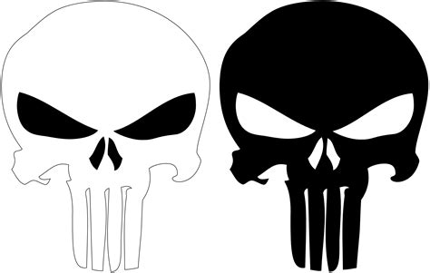 punisher template punisher logo by syrus54 on deviantart