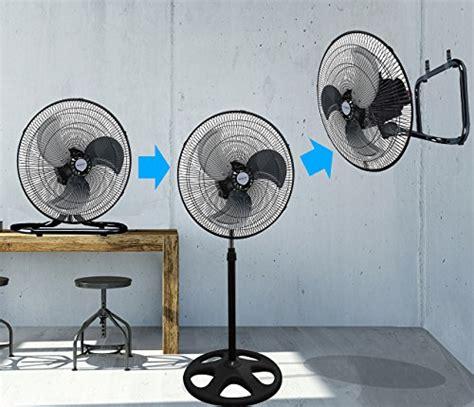 Rbf 18 Industrial Fan Floor kool it 3 in 1 premium large high velocity industrial black floor fan 18 floor stand mount