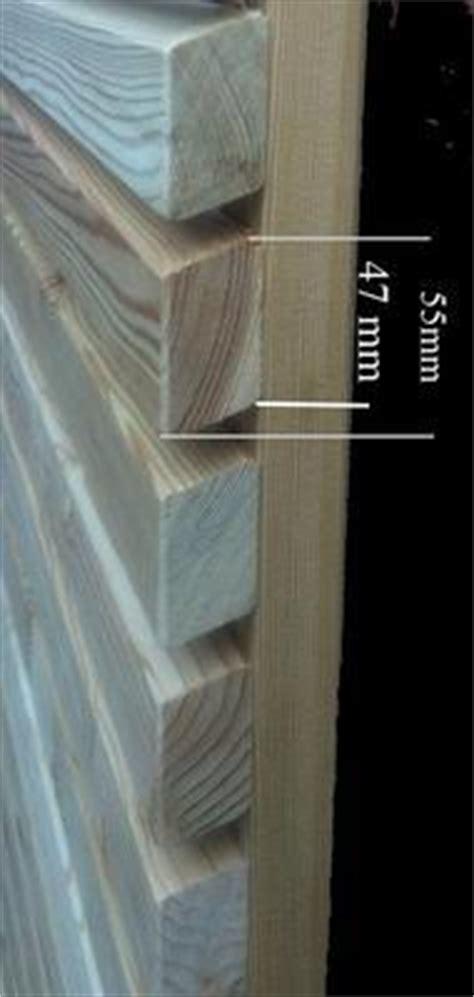 rhombusleisten robinie sichtschutzelemente moderner sichtschutzzaun aus