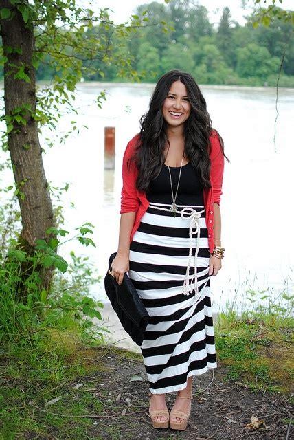 7 ways to wear a maxi skirt this summer larisoltd