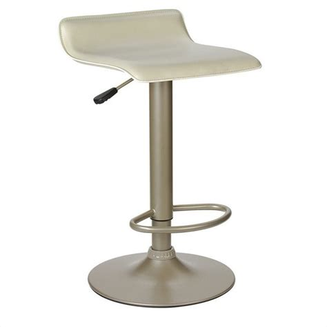 Airlift Bar Stool by Height Adjustable Airlift Bar Stool In Beige 93829