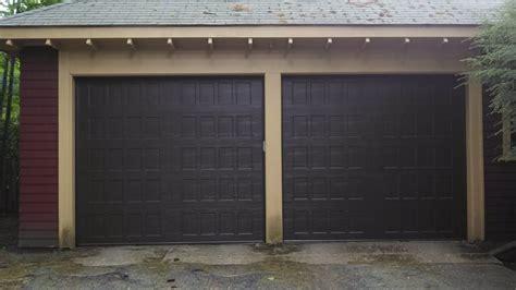 Pioneer Overhead Door Amarr Oak Summit Recessed Brown Yelp