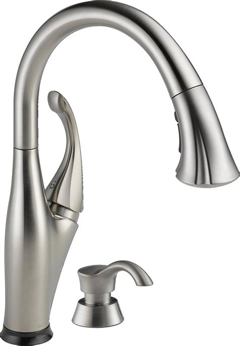 kitchen faucet reviews 2013 delta addison 9192t sssd dst kitchen faucet with single