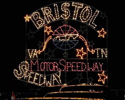bristol speedway christmas lights iso 1600 hand held
