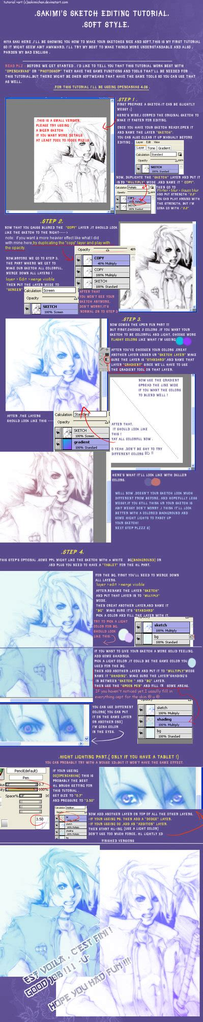 sketchbook editing sketch editing tutorial soft by sakimichan on deviantart