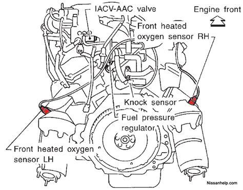 2003 nissan xterra knock sensor wiring harness 46 wiring