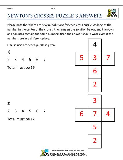 Math Puzzles Worksheets by Math Puzzle Worksheets 3rd Grade