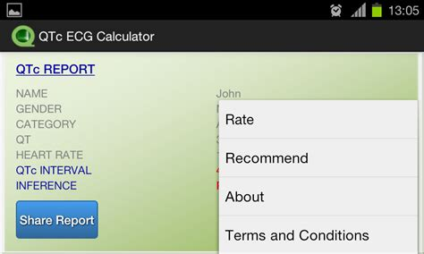 calculator qtc qtc ecg calculator android apps on google play