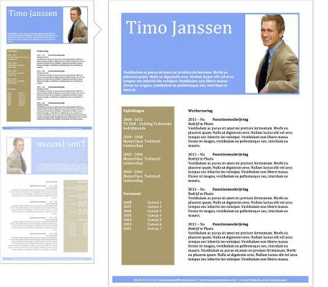 Goede Cv Sjabloon 1000 Images About Voorbeeld Cv On Infographic Words And Tes