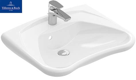 Wastafel Miva Toilet by Villeroy Boch O Novo Vita Wastafel M Overloop Wit