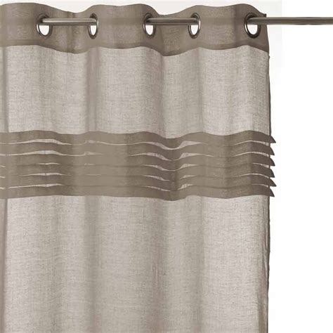 Rideaux Couleur Taupe by Rideau Voilage 140x240 Taupe