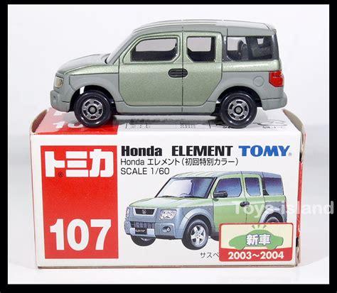tomica 107 honda element 1 60 tomy diecast car gift green