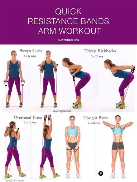 Resistance Band Bands Set Alat Fitness Portable Workout resistance bands arm workout i sassy fit