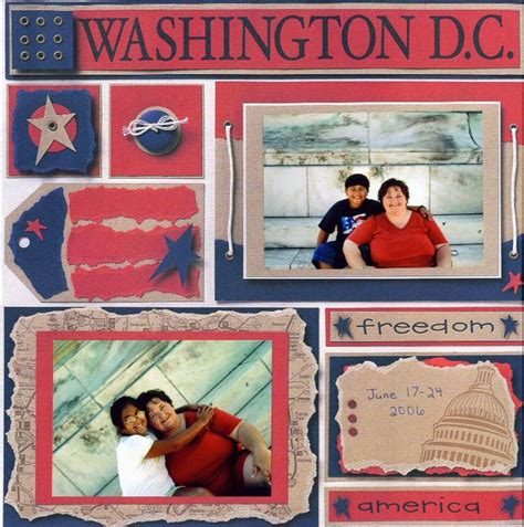 scrapbook layout washington dc 39 best washington dc scrapbooking images on pinterest
