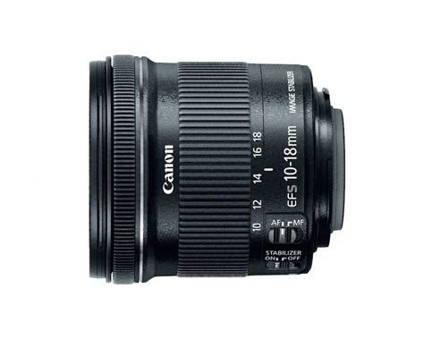 Lensa Canon Wide 10 18mm canon ef s 10 18mm f 4 5 5 6 is stm lens officially announced daily news