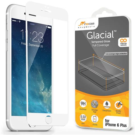 Tempered Glass Iphone 6 Plus 5 Inchi 6 5 5 Motif Warna roocase screen tempered glass protector for iphone 6 plus 5 5 inch ebay
