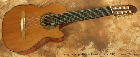 sergei de jonge  string classical guitar sold www