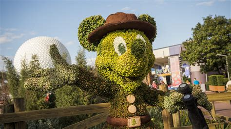 Epcot Flower And Garden Show 2017 Epcot Flower And Garden Festival Plans And Info
