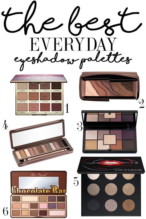 The Best Everyday Eyeshadow Palettes   Citizens of Beauty