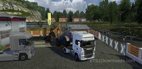 mod game euro truck rain fog hd add on for brutal environment ets 2 mods
