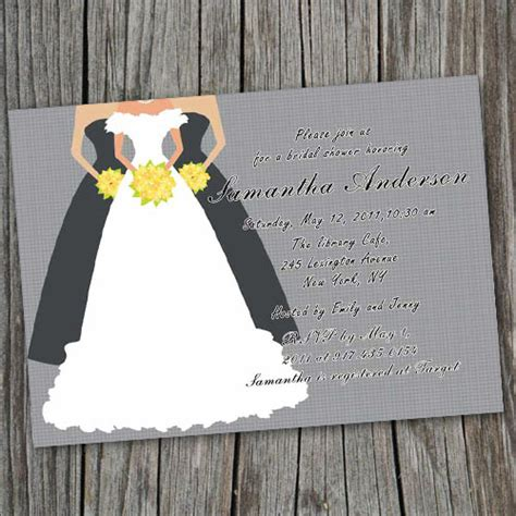 wedding shower invitations print at home printable grey bridal shower invitation cards ewbs019 as