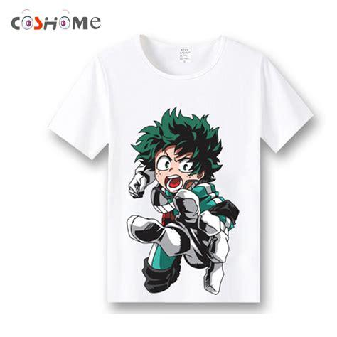 Kaos Anime Boku No Academia Izuku Midoriya Shirt Kc Bha 03 coshome boku no academia t shirts costumes my academia t shirts izuku midoriya