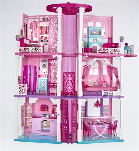 barbies dream house barbie s moved into the new barbie dream house barbieismoving