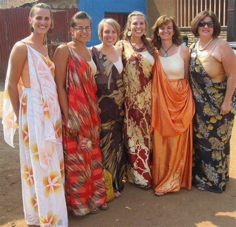 Wedding Attire For Visitors by Mushanana Is Also Quite Popular As Traditional Ceremony