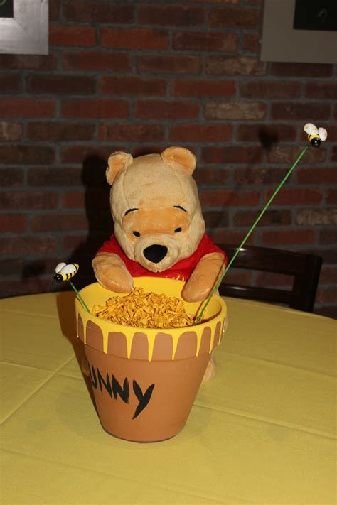 Winnie The Pooh Baby Shower Decorations For A Boy by 37 Best Images About Winnie Pooh Shower Ideas On