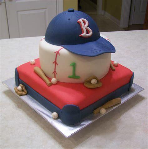 1st birthday baseball themed cake beth ann s