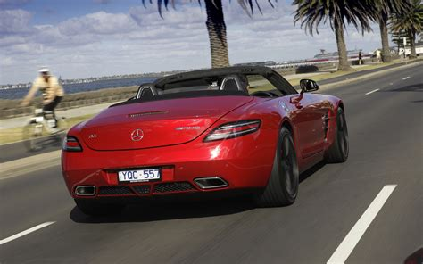 mercedes benz sls amg roadster review  caradvice