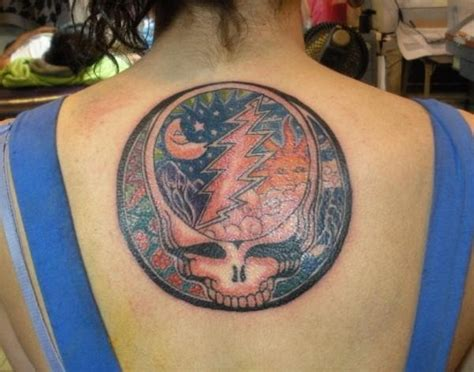 steal your face tattoo grateful dead tattoos gd 91 your w