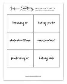 free printable pantry labels kaninchen und k 252 che