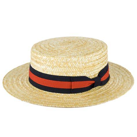 Handmade Straw Hats - zakira straw boater hat handmade in italy ebay