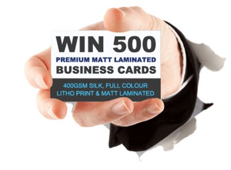 Free 500 Gift Card - 500 free business cards axisandallies us