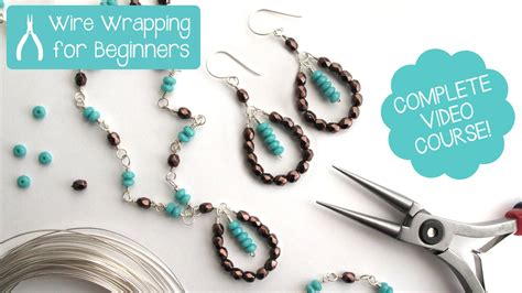 who makes jewelry jewelry wire wrapping for beginners class teaser