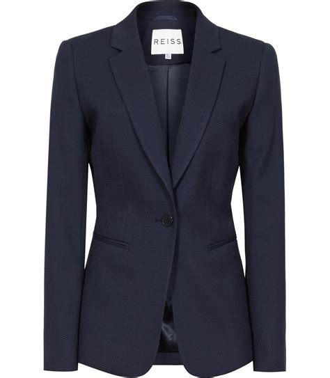 Jaket Navy navy blazer jacket womens fashion ql