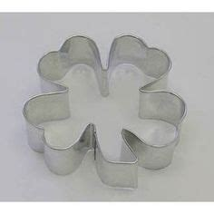 Cutter Lucky Bag two plastic four leaf clover cookie cutters one is