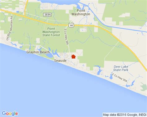 map of grayton florida gulf of mexico grayton house and cabin rentals