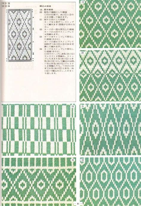 pattern library c 17 best images about punch card knitting on pinterest