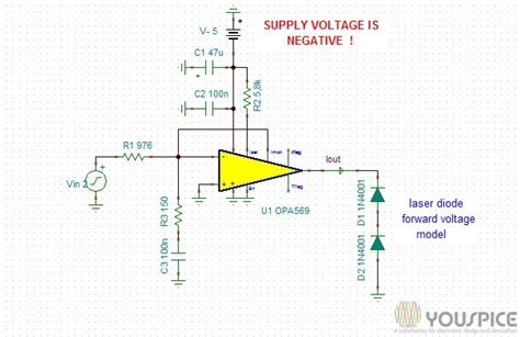 laser diode anode and cathode 2 ere anode grounded laser diode driver youspice